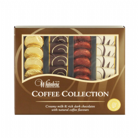 Coffee Collection - Assorted Milk & Dark  Whitakers Chocolates Box 170g